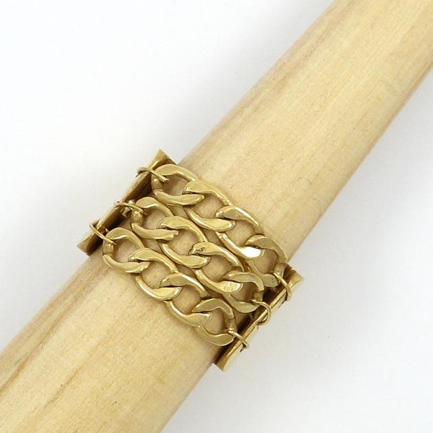 Cologne II ring - gold