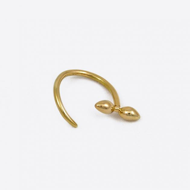 Donostia ring - gold-plated