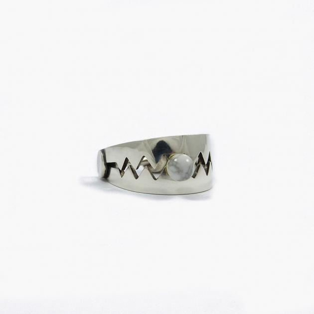 Trap ring - silver