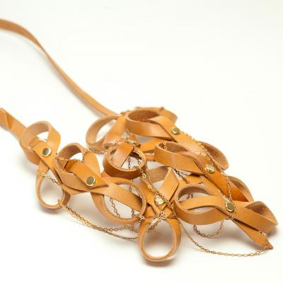 Biarritz necklace - natural